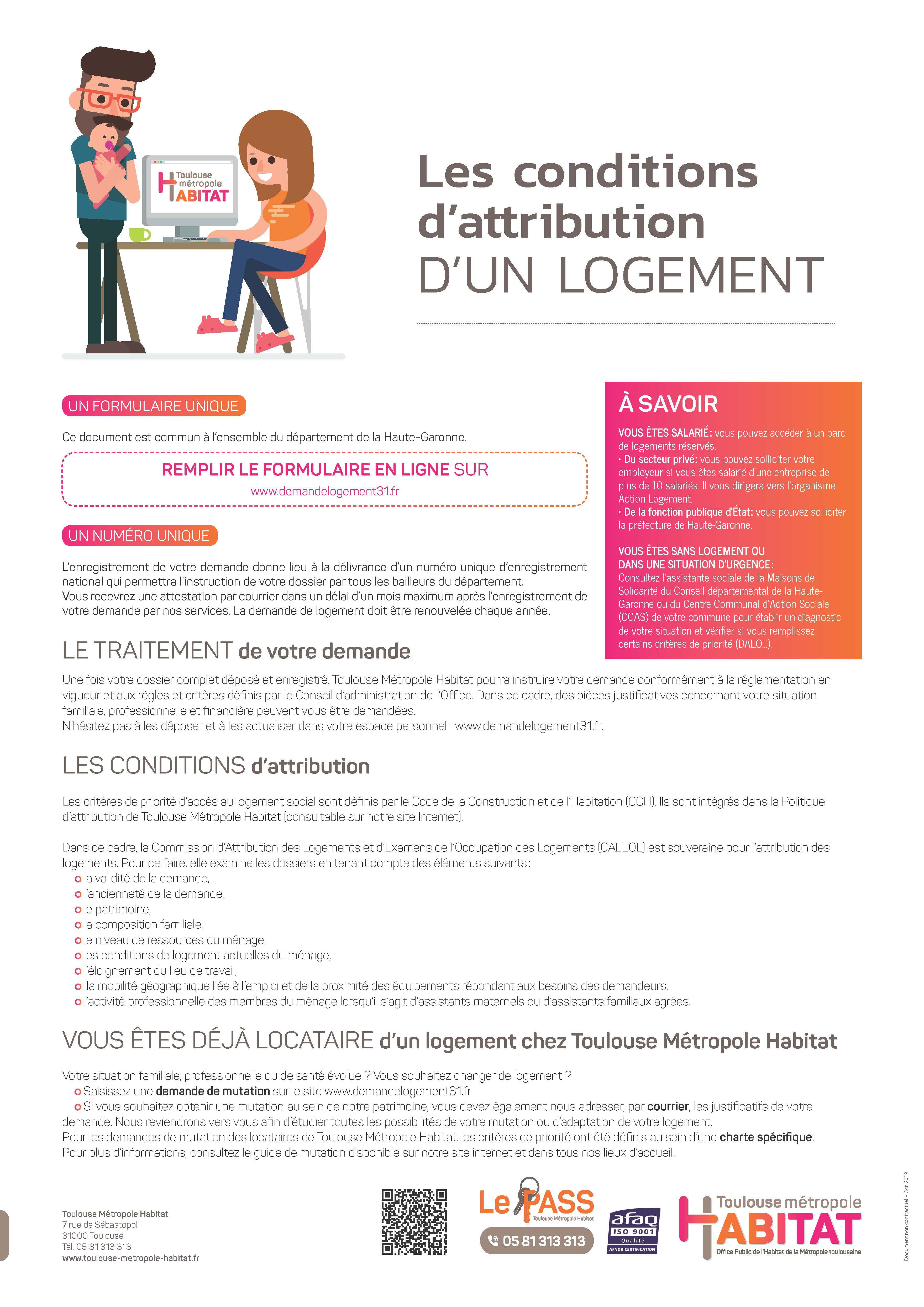 attribution logement