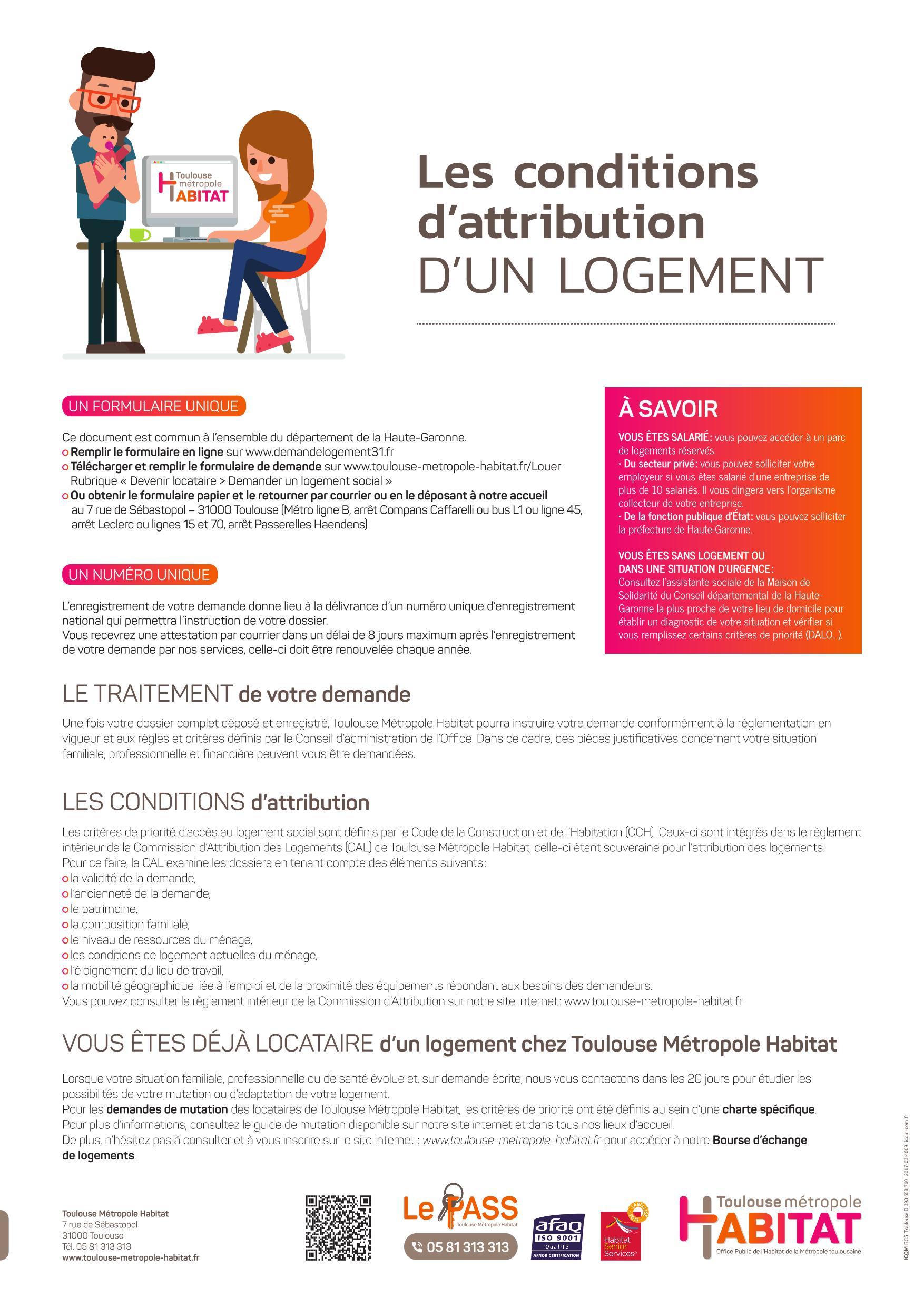 Demander Un Logement Social Toulouse Metropole Habitat